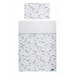 2-dielne posteľné obliečky Belisima Little Man 90/120 sivé