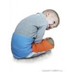 Detský bederňák 5-11 rokov VG antracitovo-limetkový