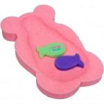 Penová podložka maxi New Baby ružový medveď