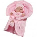 Luxusná detská bábika-bábätko Berbesa Valentina 28cm
