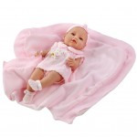 Luxusná detská bábika-bábätko Berbesa Ema 39cm