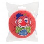 Kúpeľová huba Klaun Calypso tmavo ružová