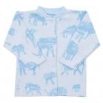 Dojčenský kabátik Baby Service Slony modrý