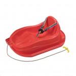 Plastové sánky s operadlom BAYO MINI červené