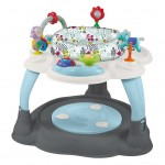 Multifunkčný detský stolček Baby Mix sivý
