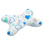 Stabilizačný vankúšik New Baby modré srdiečka