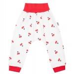 Dojčenské bavlnené tepláčky New Baby Cherry