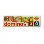 Detské domino Domáce zvieratka