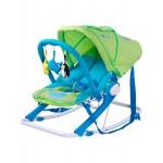 Detské ležadlo CARETERO Aqua green